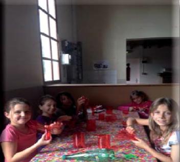 Enfants participant au TAP